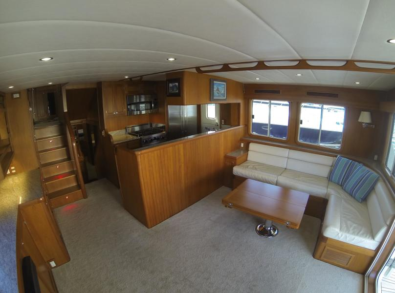 Saloon Looking To Starboard