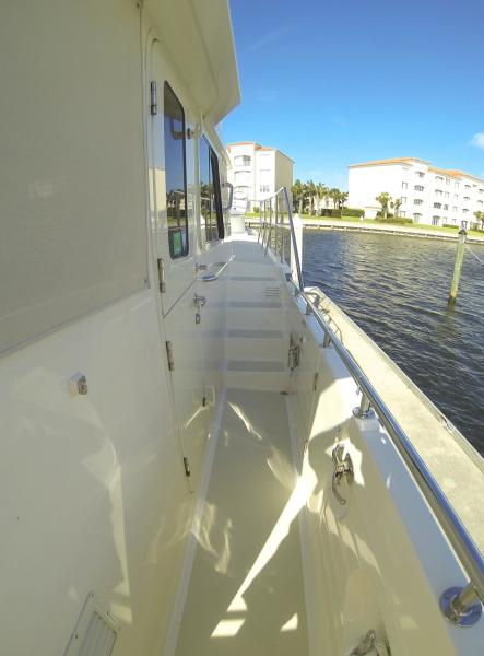 Convenient Stairs To Boat Deck & Flybridge