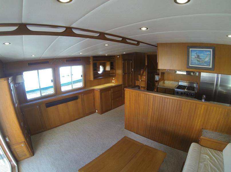 Saloon Looking To Port