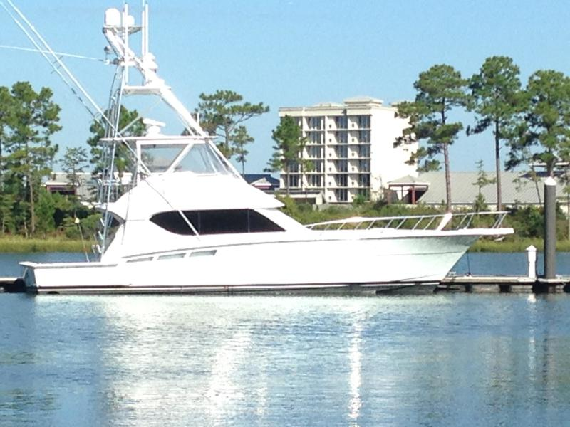 photo of 50' Hatteras Convertible 2000