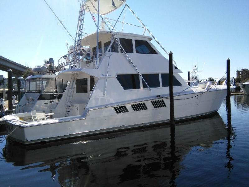 photo of 65' Hatteras Convertible 1997