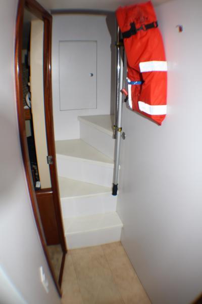 Stairways Crew To Aft Deck