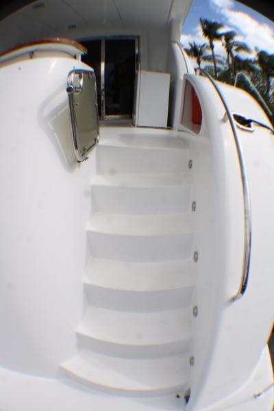 Stairway Stern to Aft Deck