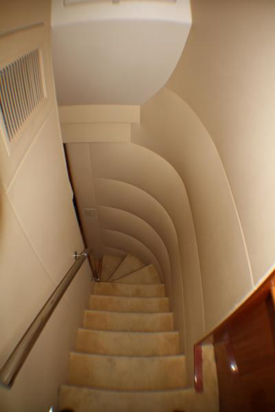 Stairway Salon to Staterooms