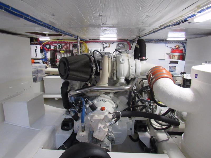 Super Clean Engine Room