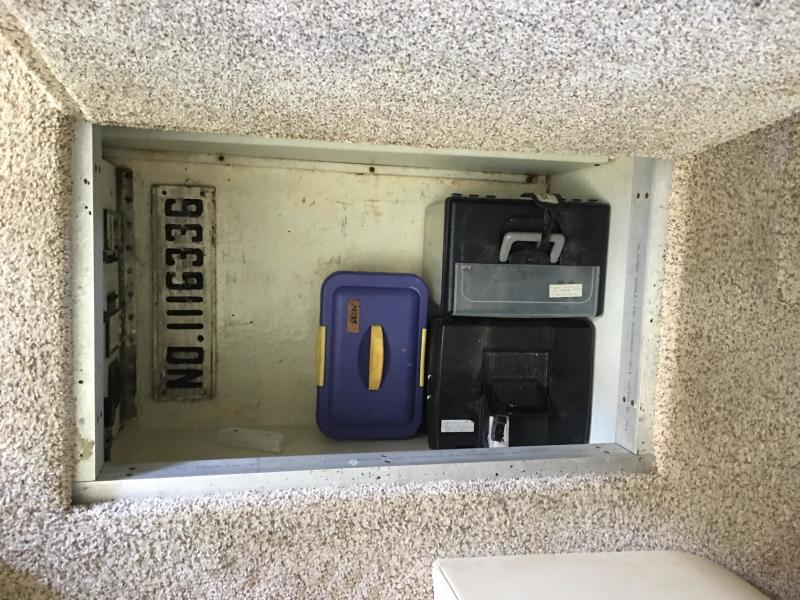 In-Floor storage locker
