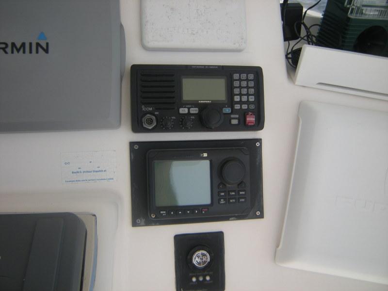 Icom VHF and Simrad Autopilot