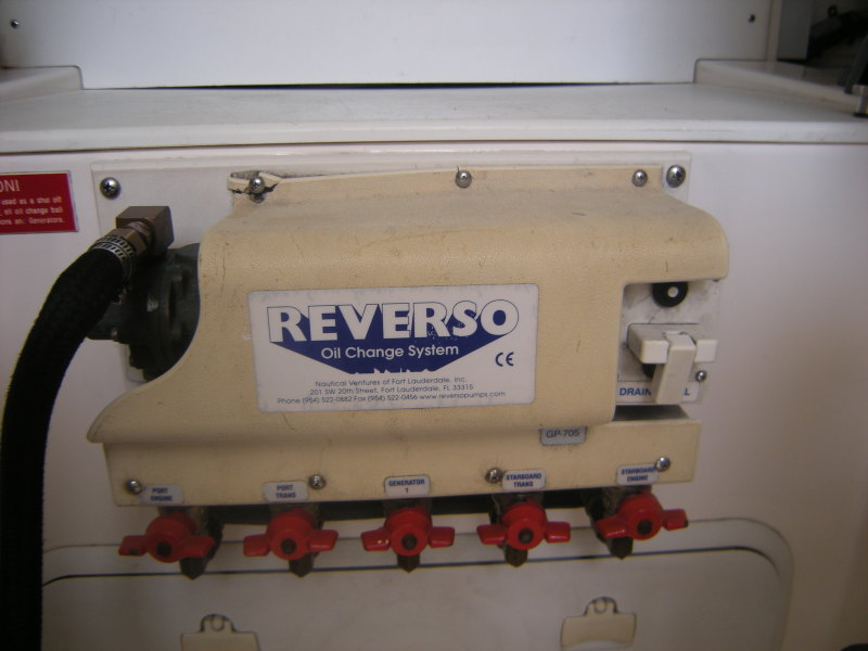 Rverso Oil Change System
