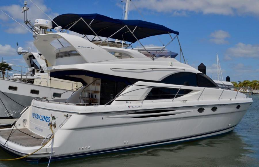 Fairline-Phantom 50 2007-No Tan Lines Ft. Pierce-Florida-United States-457541-featured