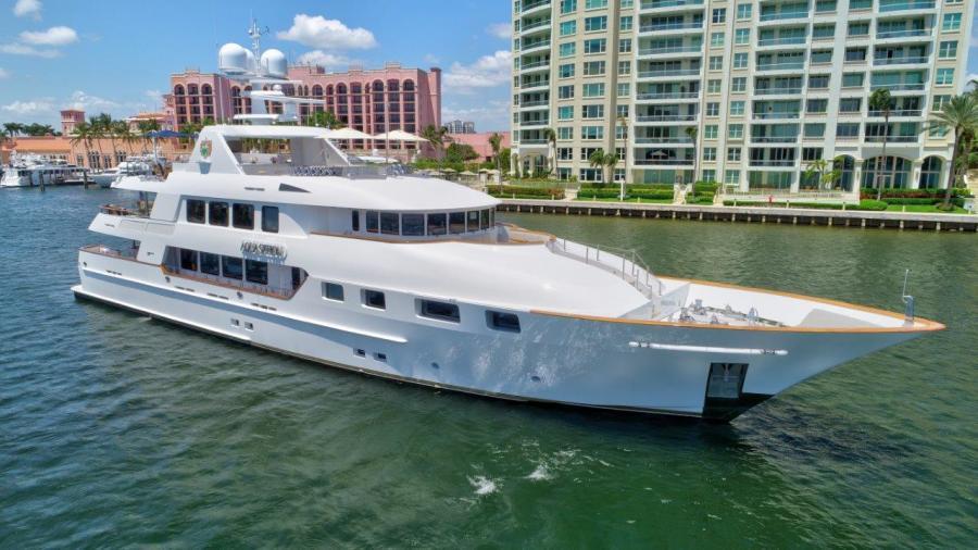 photo of 142' Trinity Yachts Tri-Deck MY 2010
