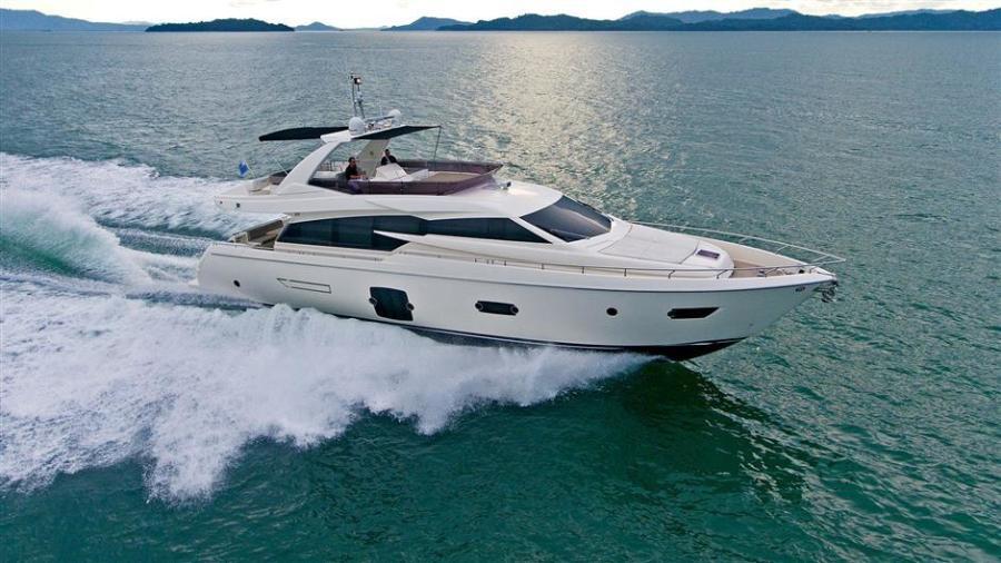 photo of 72' Ferretti Yachts 720 2012