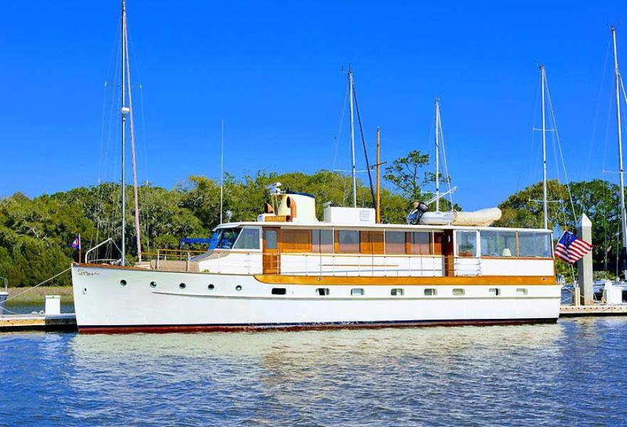 Photo of 60' Trumpy Houseboat 1947