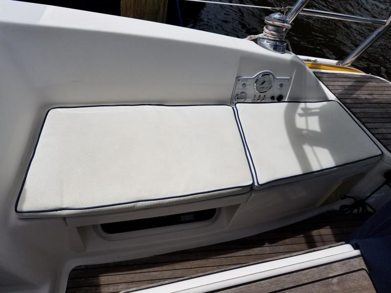 Hunter E33  Starboard Cockpit Cushions