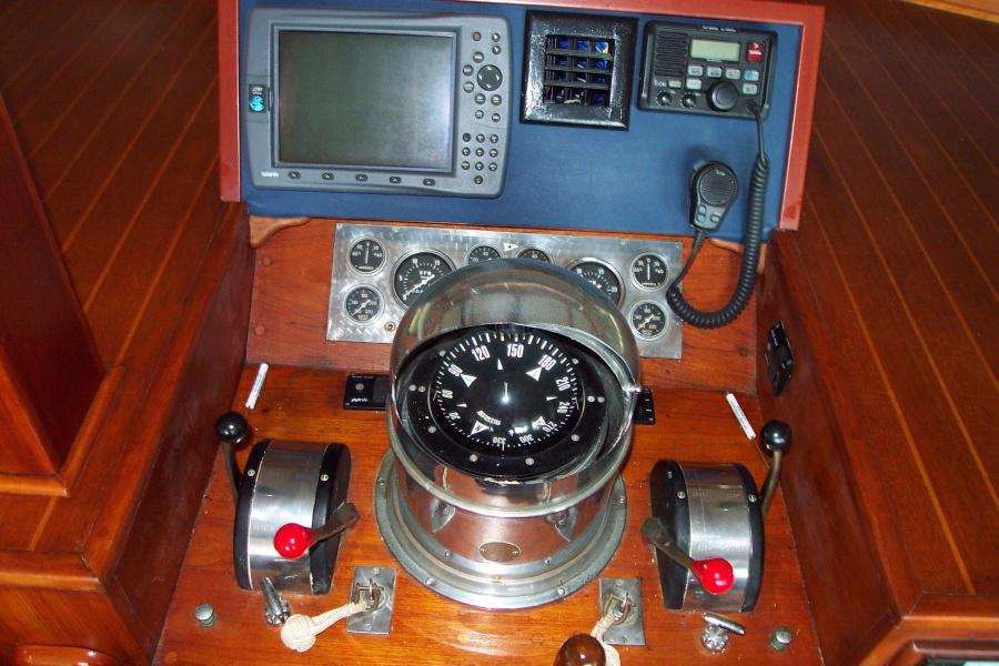 Lower Helm Navigation and Instruments