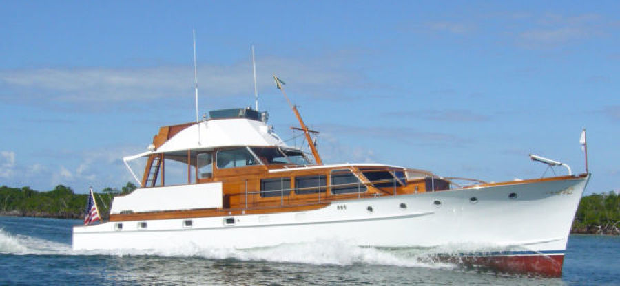 photo of 57' Trumpy CPMY 1960