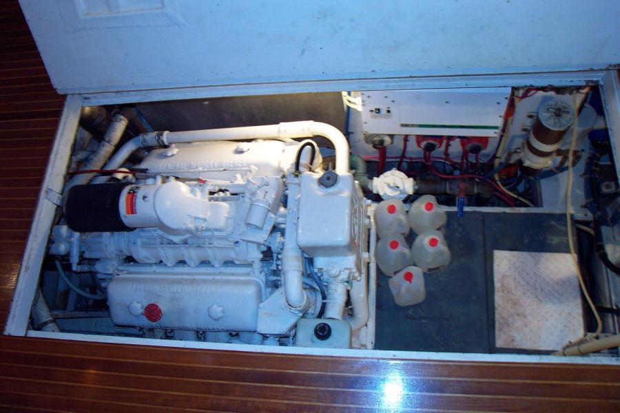 Port Engine Saloon Hatch