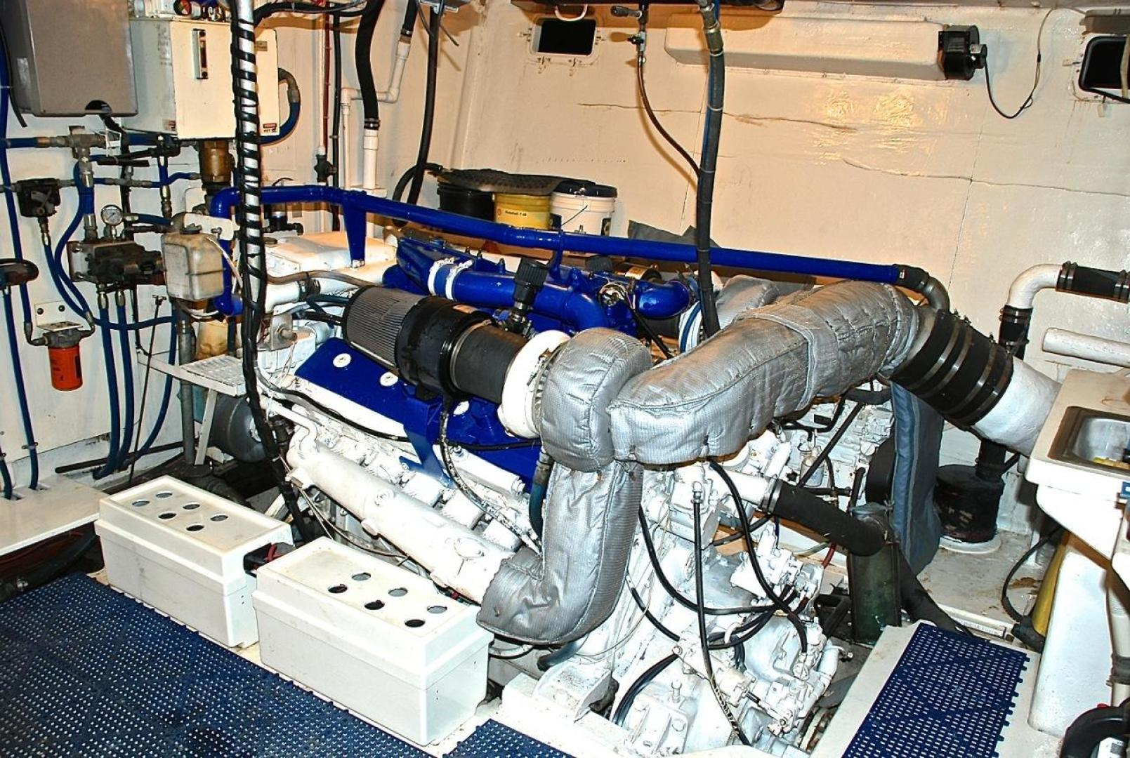 Infinity-Cockpit Motor Yacht 2001-Dont Matter Houston-Texas-United States-Starboard Engine-1005580 | Thumbnail