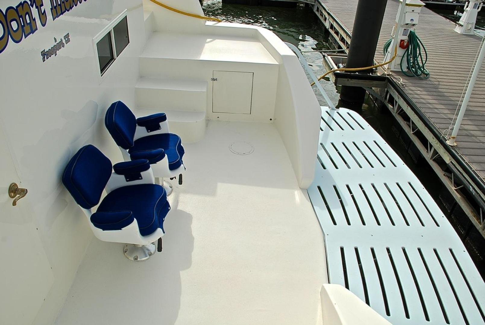 Infinity-Cockpit Motor Yacht 2001-Dont Matter Houston-Texas-United States-Swim Platform-1005575 | Thumbnail