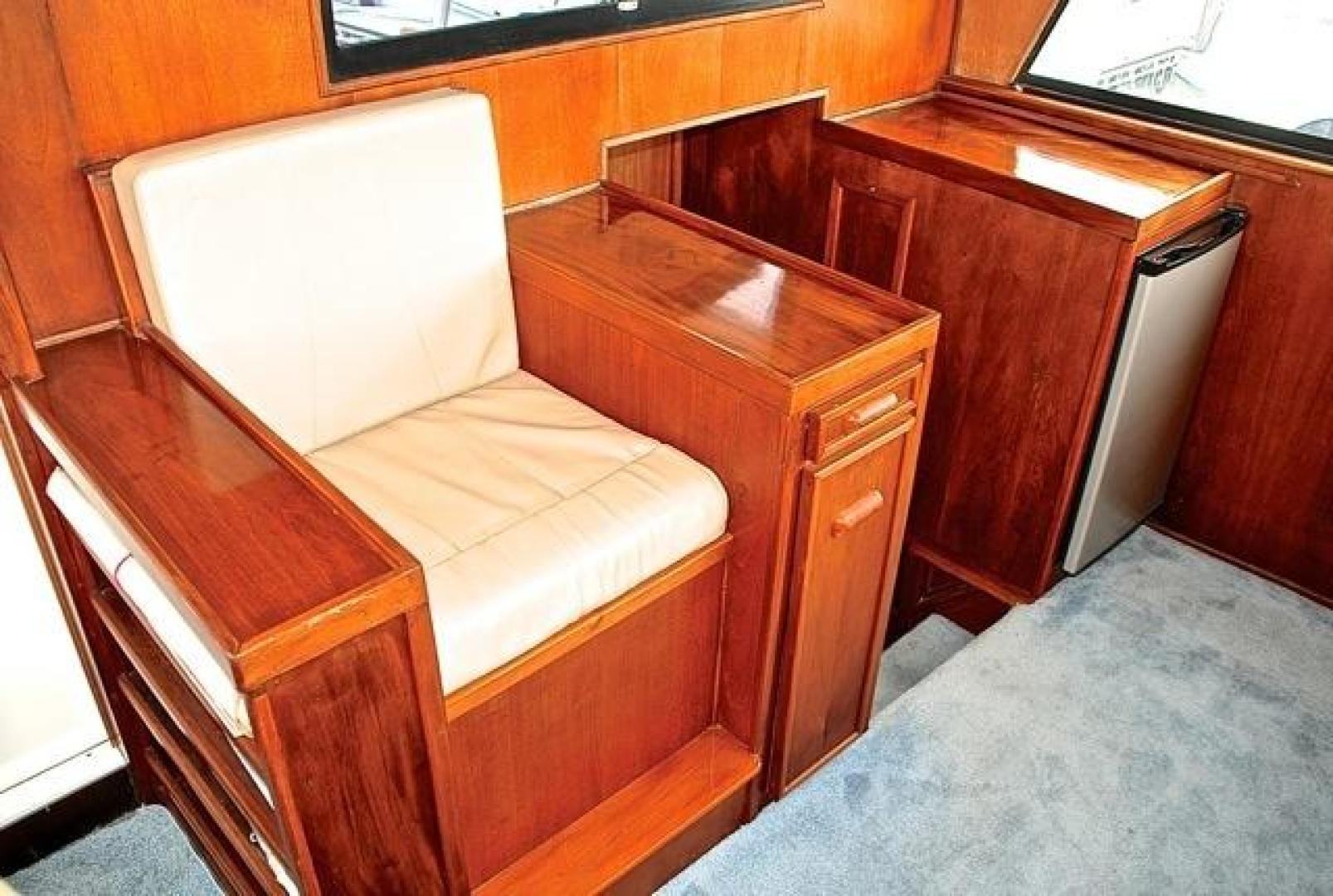 Infinity-Cockpit Motor Yacht 2001-Dont Matter Houston-Texas-United States-Pilothouse Interior Stairwell-1005562 | Thumbnail