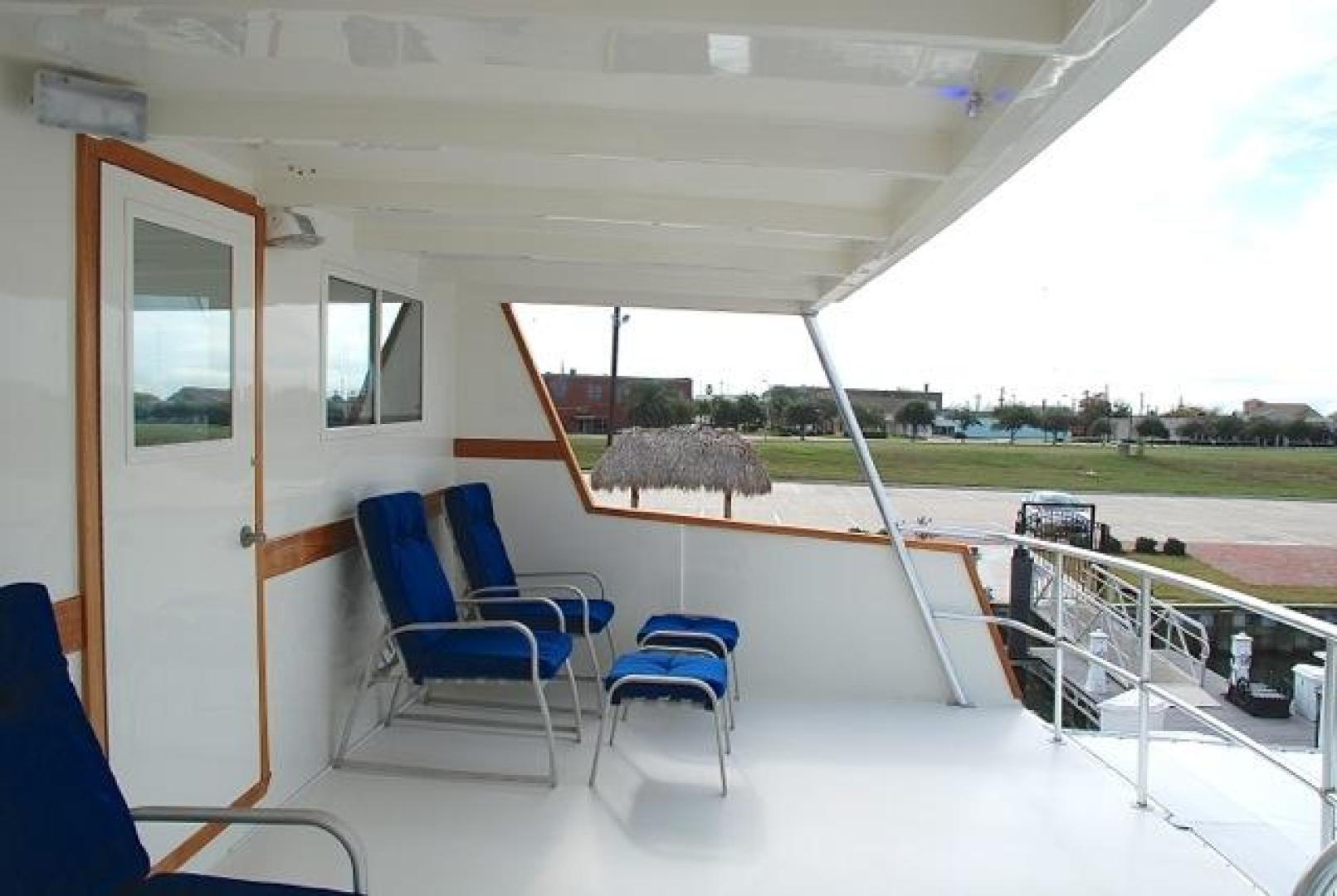 Infinity-Cockpit Motor Yacht 2001-Dont Matter Houston-Texas-United States-Upper Aft Deck View 1-1005564 | Thumbnail