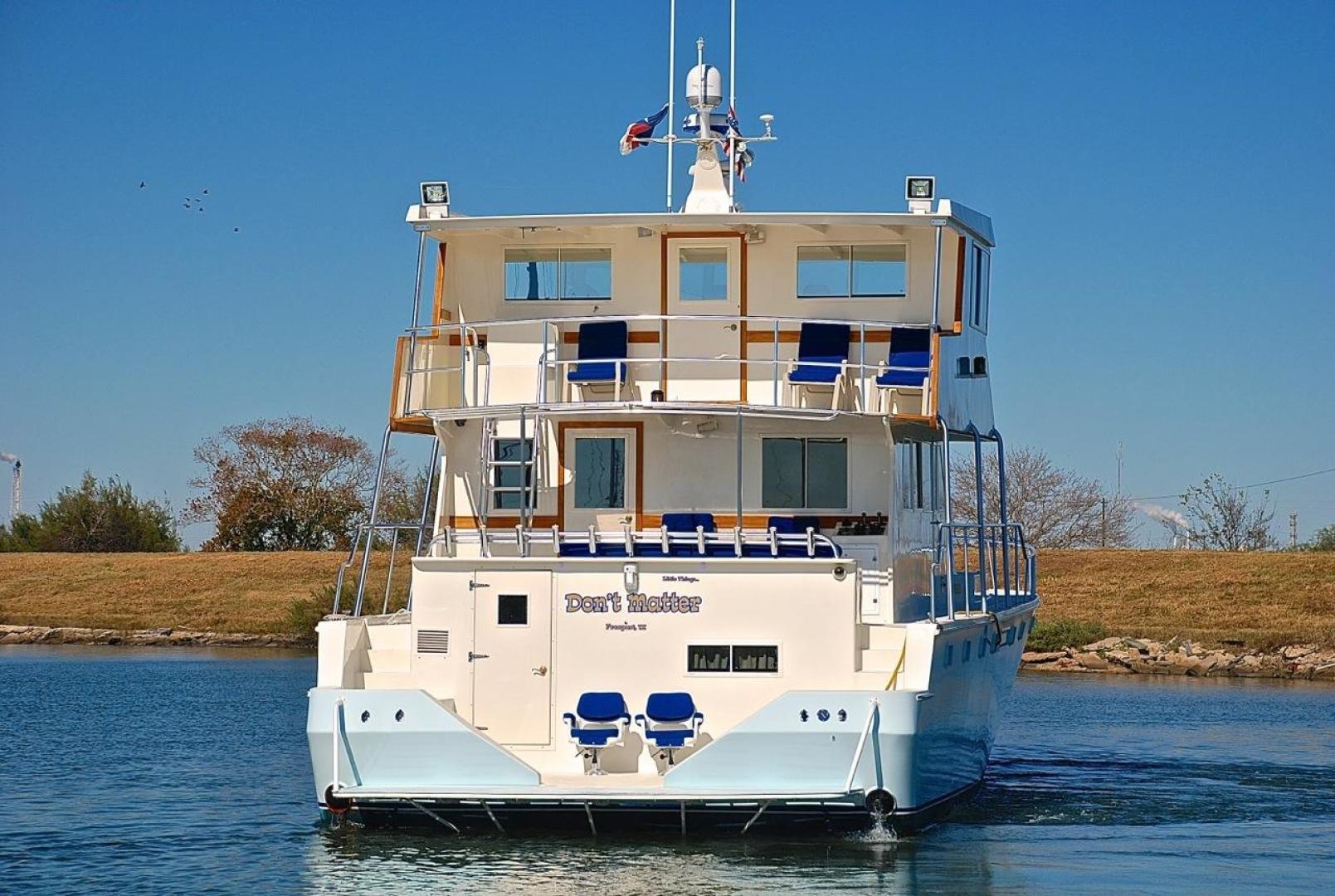 Infinity-Cockpit Motor Yacht 2001-Dont Matter Houston-Texas-United States-Stern Profile-1005587 | Thumbnail