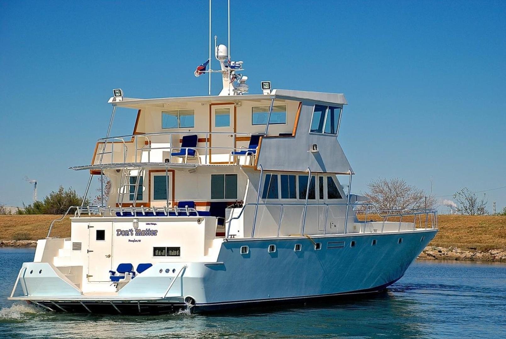 Infinity-Cockpit Motor Yacht 2001-Dont Matter Houston-Texas-United States-Starboard Aft Qtr Profile-1005586 | Thumbnail