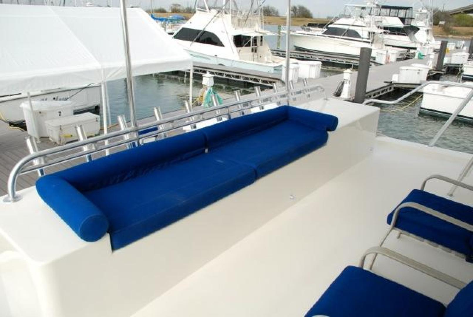 Infinity-Cockpit Motor Yacht 2001-Dont Matter Houston-Texas-United States-Lower Aft Deck View 2-1005571 | Thumbnail