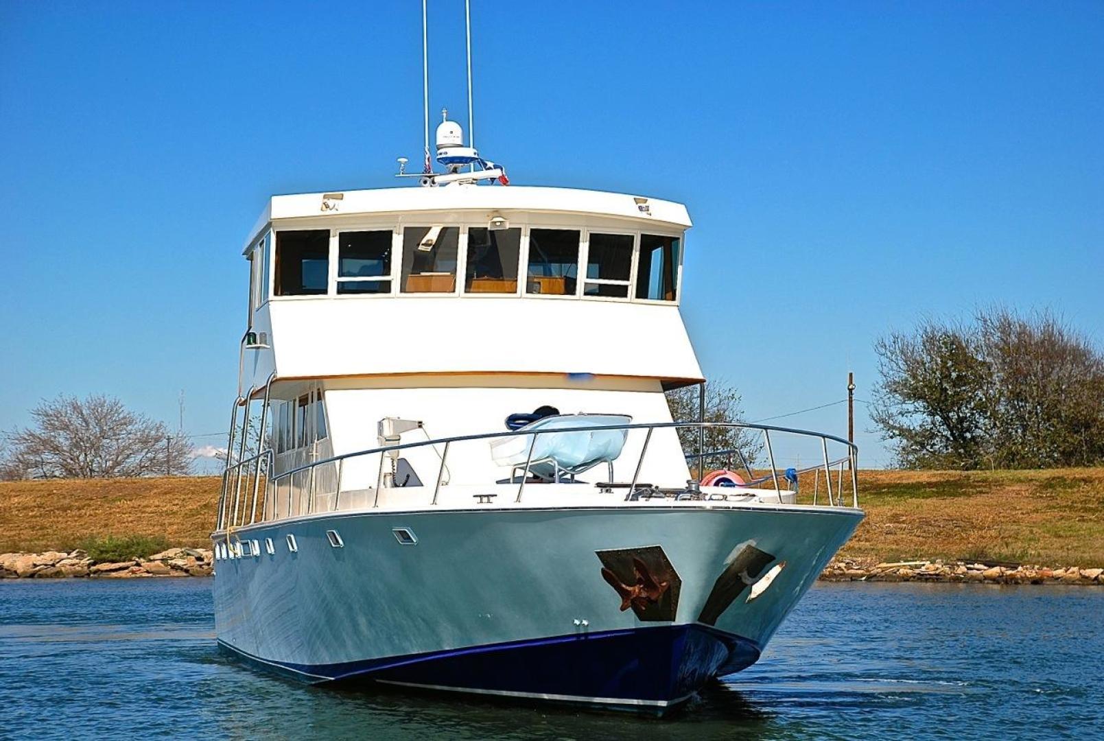 Infinity-Cockpit Motor Yacht 2001-Dont Matter Houston-Texas-United States-Bow Profile-1005585 | Thumbnail