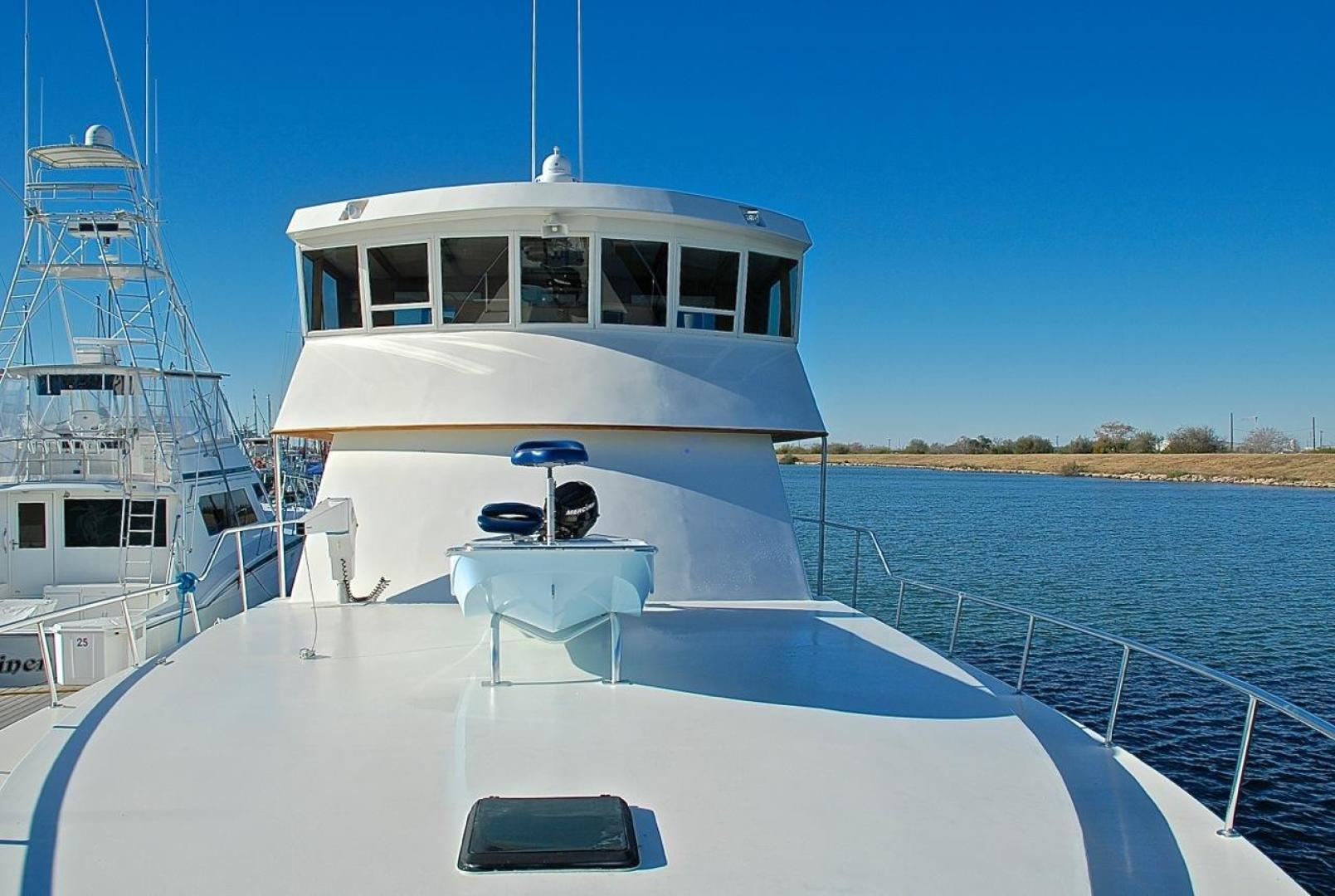 Infinity-Cockpit Motor Yacht 2001-Dont Matter Houston-Texas-United States-Fore Deck Aft View-1005579 | Thumbnail