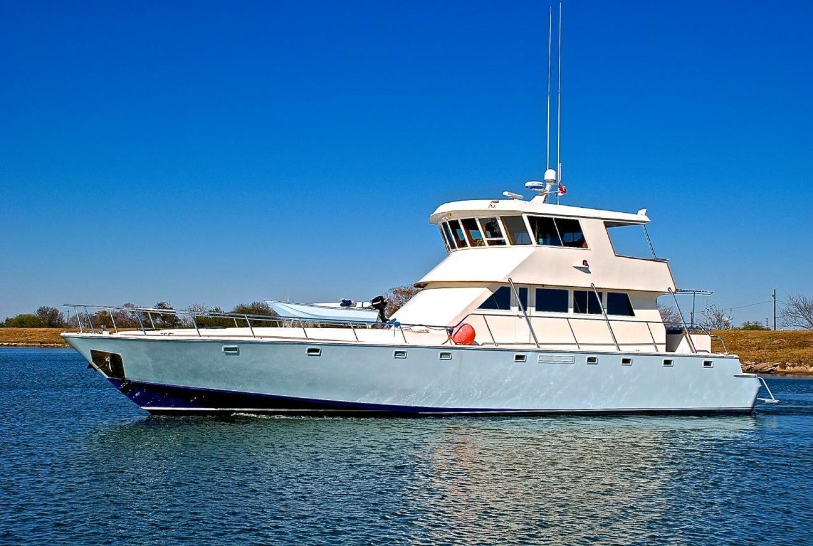 Infinity-Cockpit Motor Yacht 2001-Dont Matter Houston-Texas-United States-Port Side Profile-1005584 | Thumbnail