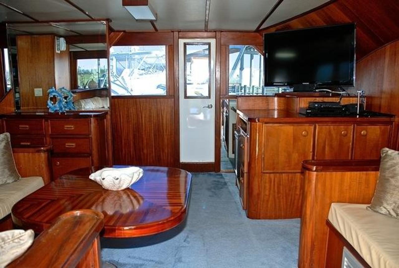 Infinity-Cockpit Motor Yacht 2001-Dont Matter Houston-Texas-United States-Salon View 3-1005539 | Thumbnail
