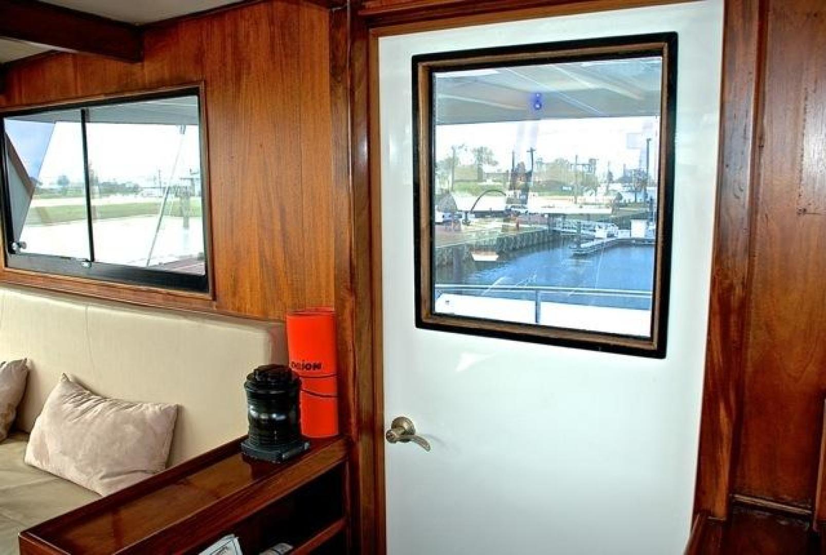 Infinity-Cockpit Motor Yacht 2001-Dont Matter Houston-Texas-United States-Upper Deck Entrance-1005563 | Thumbnail