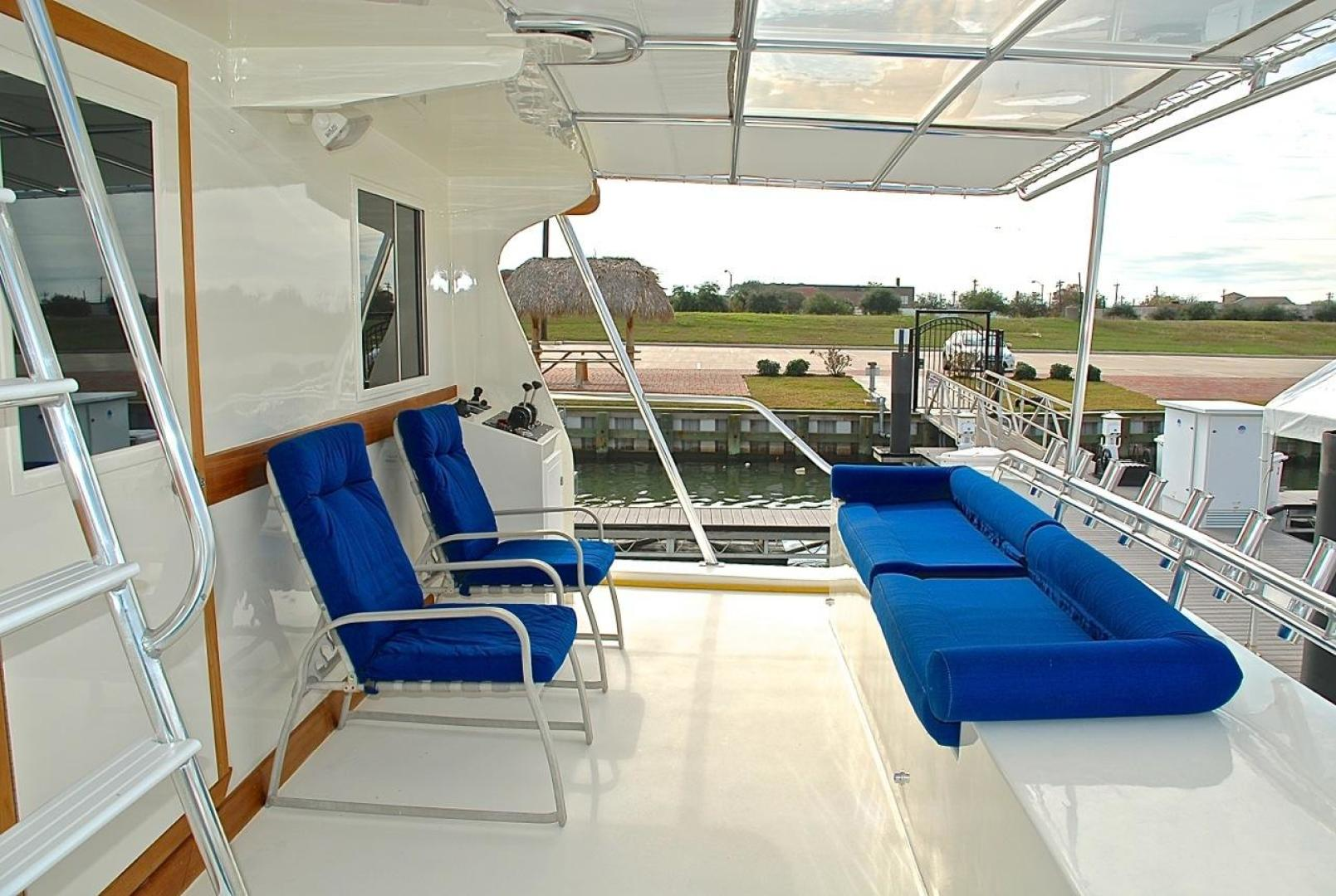 Infinity-Cockpit Motor Yacht 2001-Dont Matter Houston-Texas-United States-Lower Aft Deck View 1-1005570 | Thumbnail
