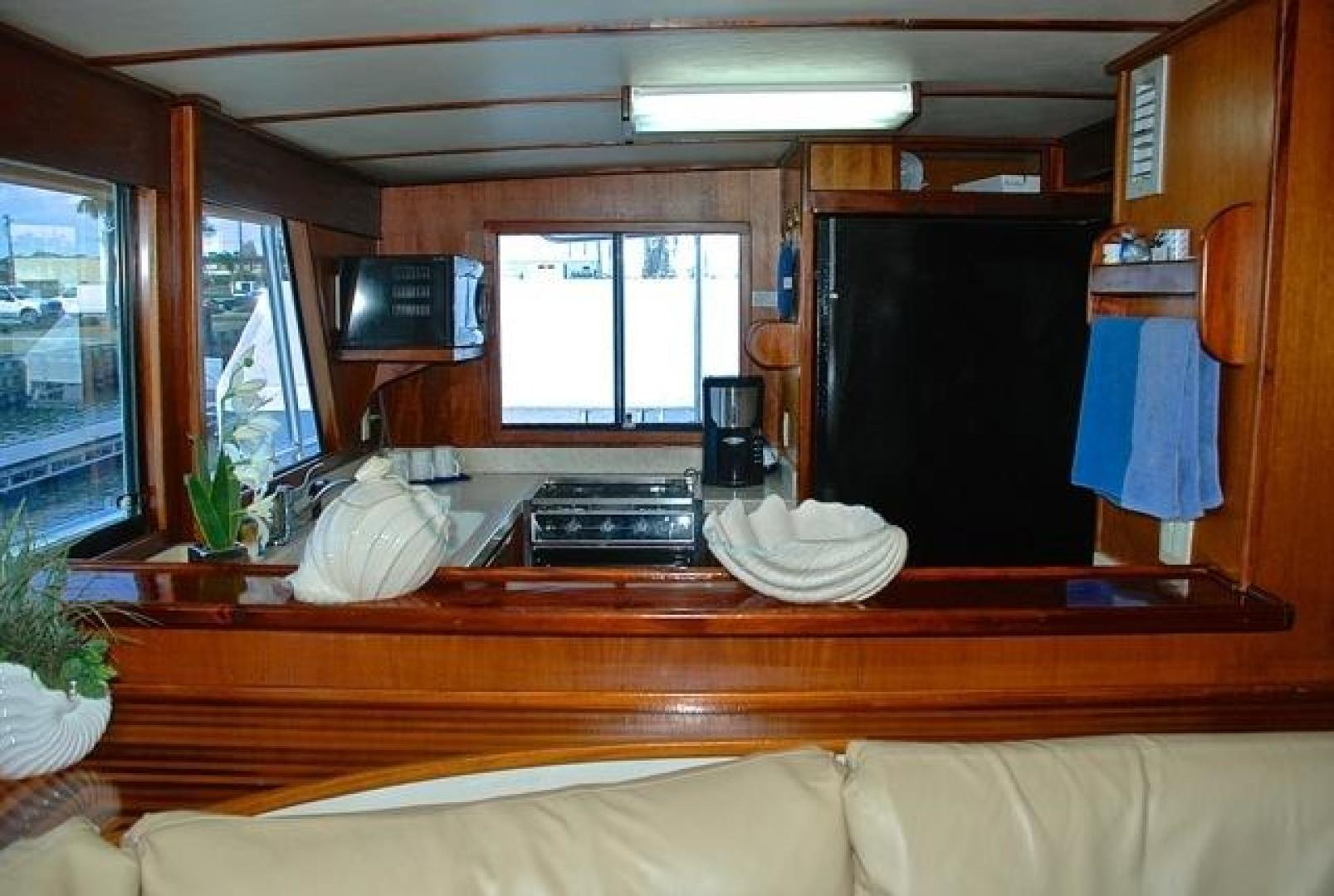 Infinity-Cockpit Motor Yacht 2001-Dont Matter Houston-Texas-United States-Galley View 2-1005536 | Thumbnail