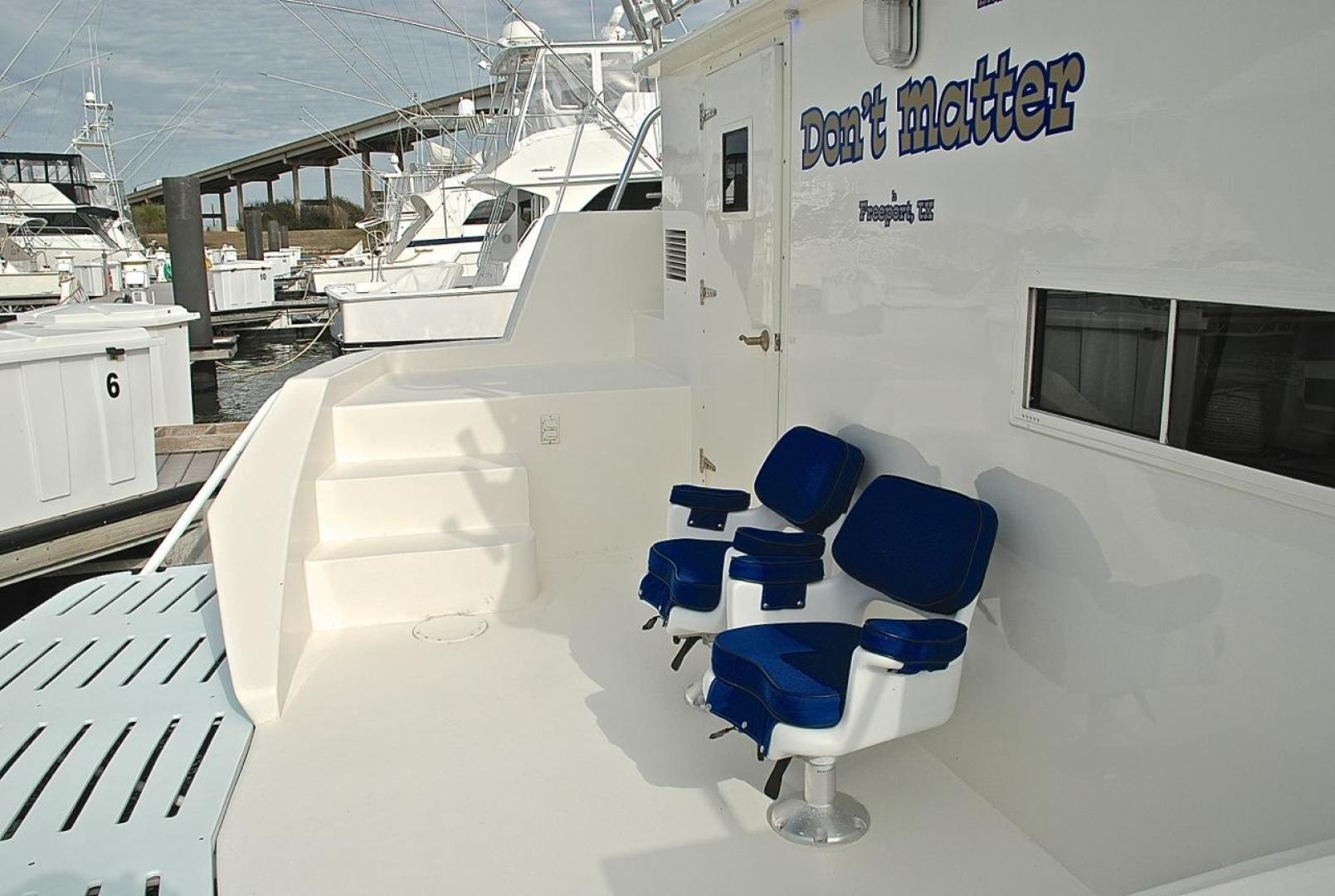 Infinity-Cockpit Motor Yacht 2001-Dont Matter Houston-Texas-United States-Cockpit-1005574 | Thumbnail