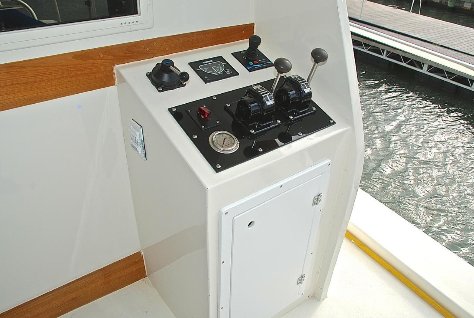 Infinity-Cockpit Motor Yacht 2001-Dont Matter Houston-Texas-United States-Aft Docking Station-1005572 | Thumbnail