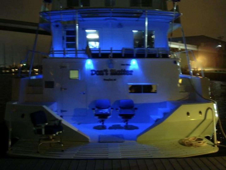 Infinity-Cockpit Motor Yacht 2001-Dont Matter Houston-Texas-United States-Blue Led Lights-1005588 | Thumbnail