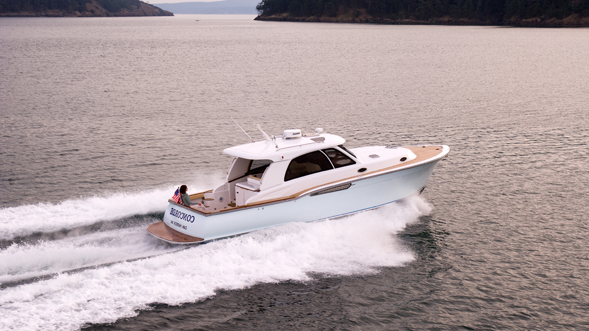 Picture Of: 41' Concorde 41 2014 Yacht For Sale   1 of 11