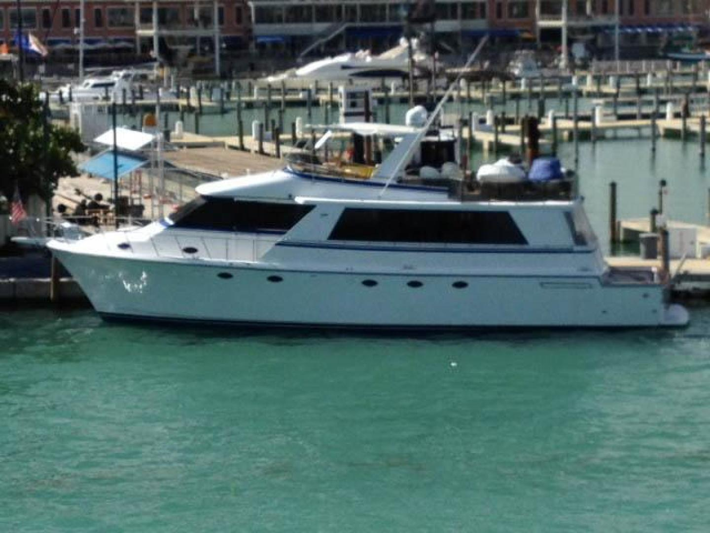 Picture Of: 72' Vantare Cockpit MotorYacht 1991 Yacht For Sale | 1 of 14
