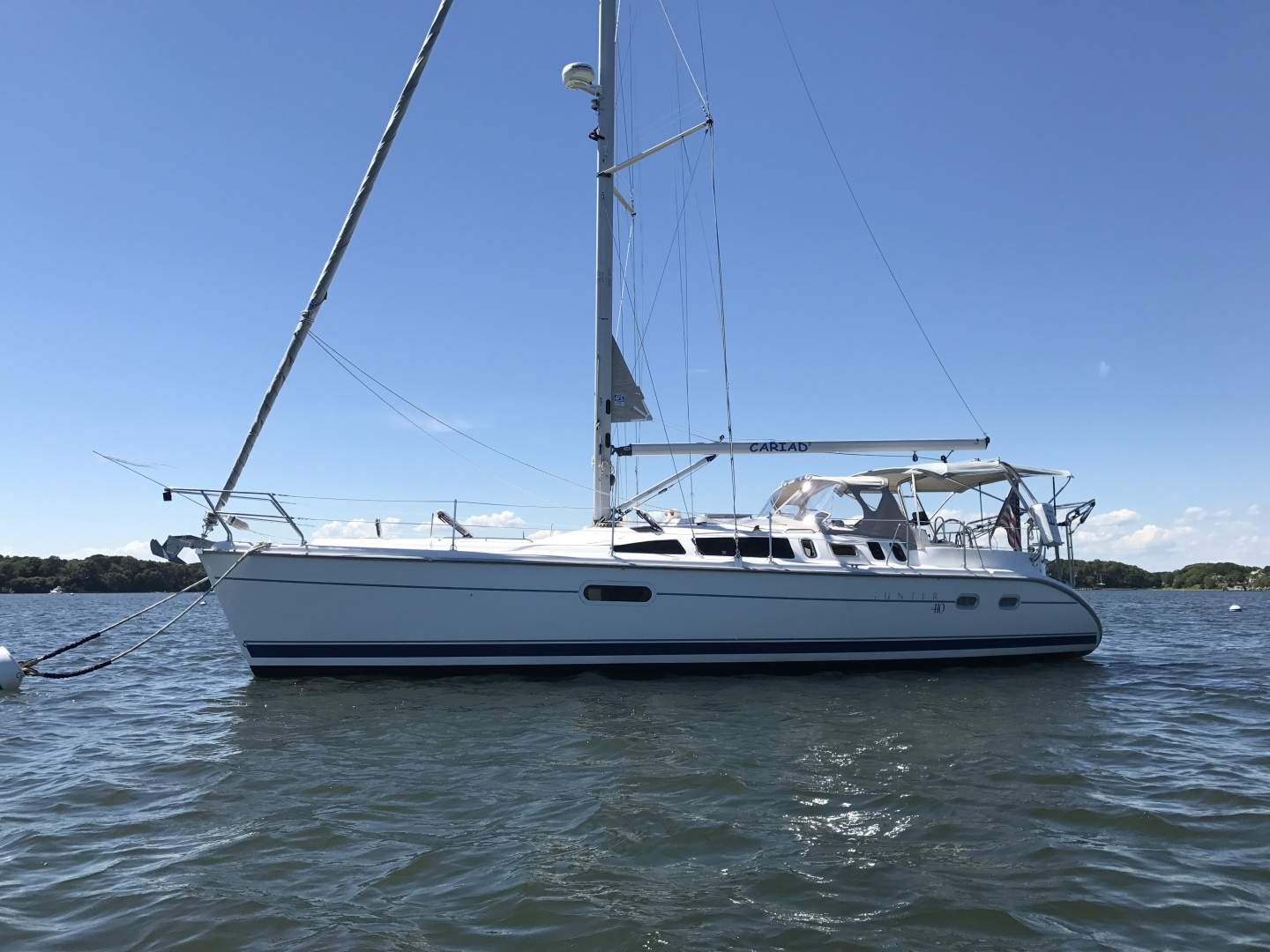 Cariad | Used Hunter 41' 410 For Sale In Massachusetts