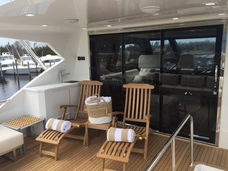 Viking 82 - Aft Deck Mezzanine