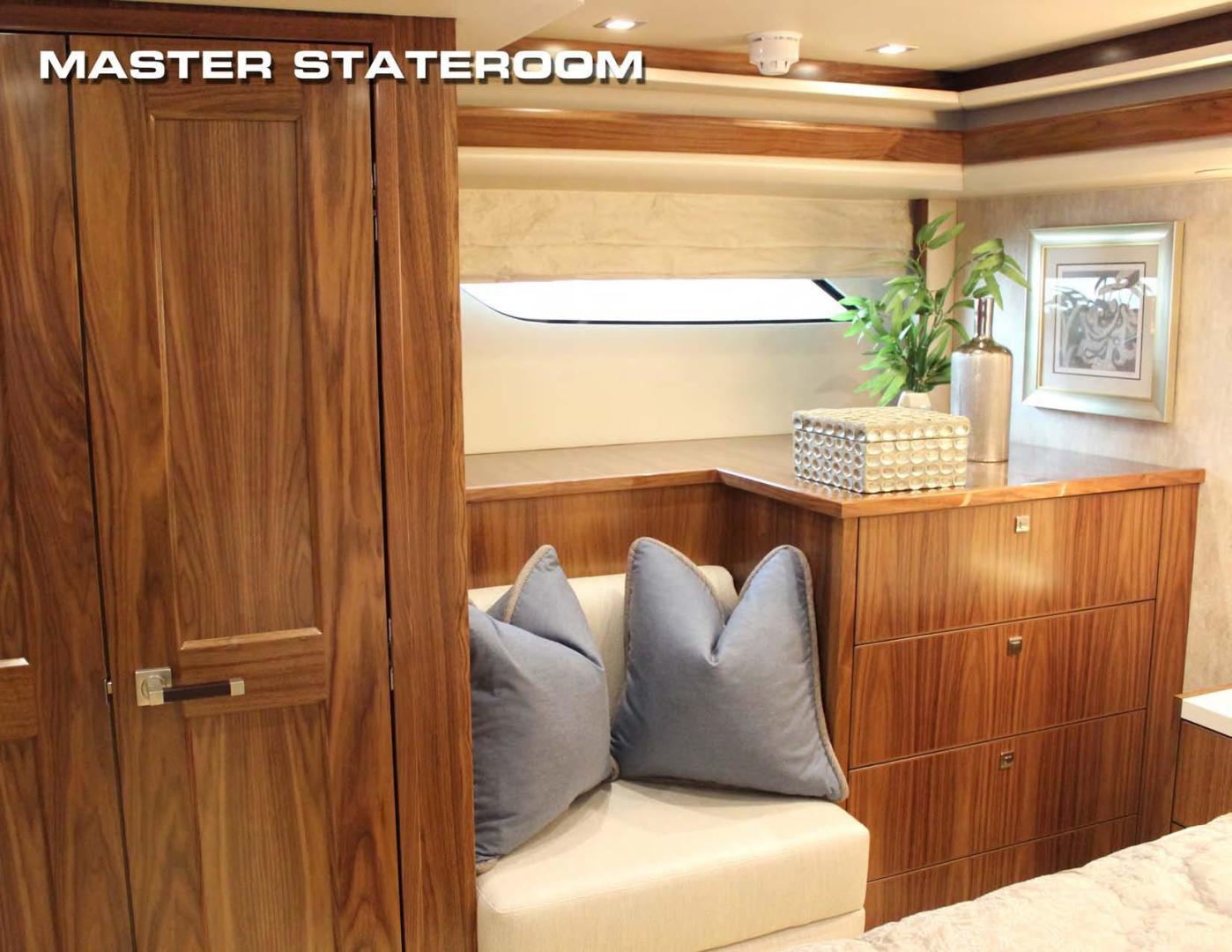 Viking 80 - Master Stateroom