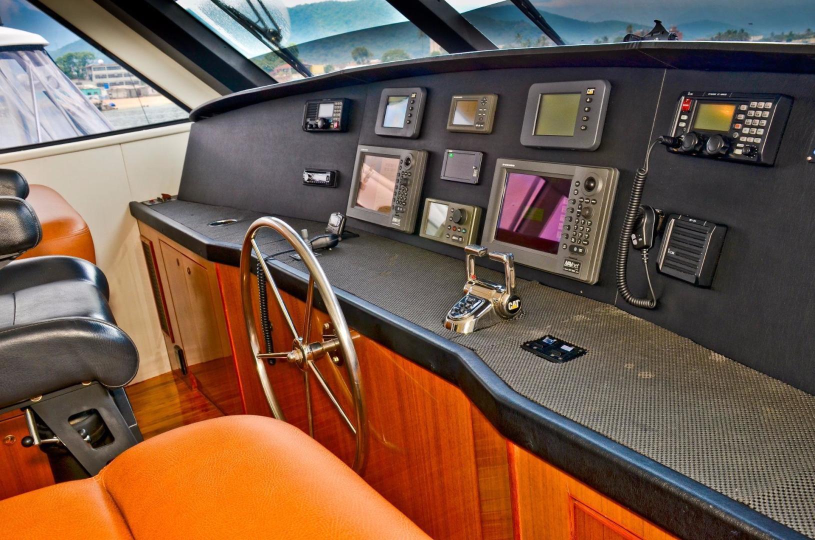 Viking 61 - Dushi - Flybridge Helm