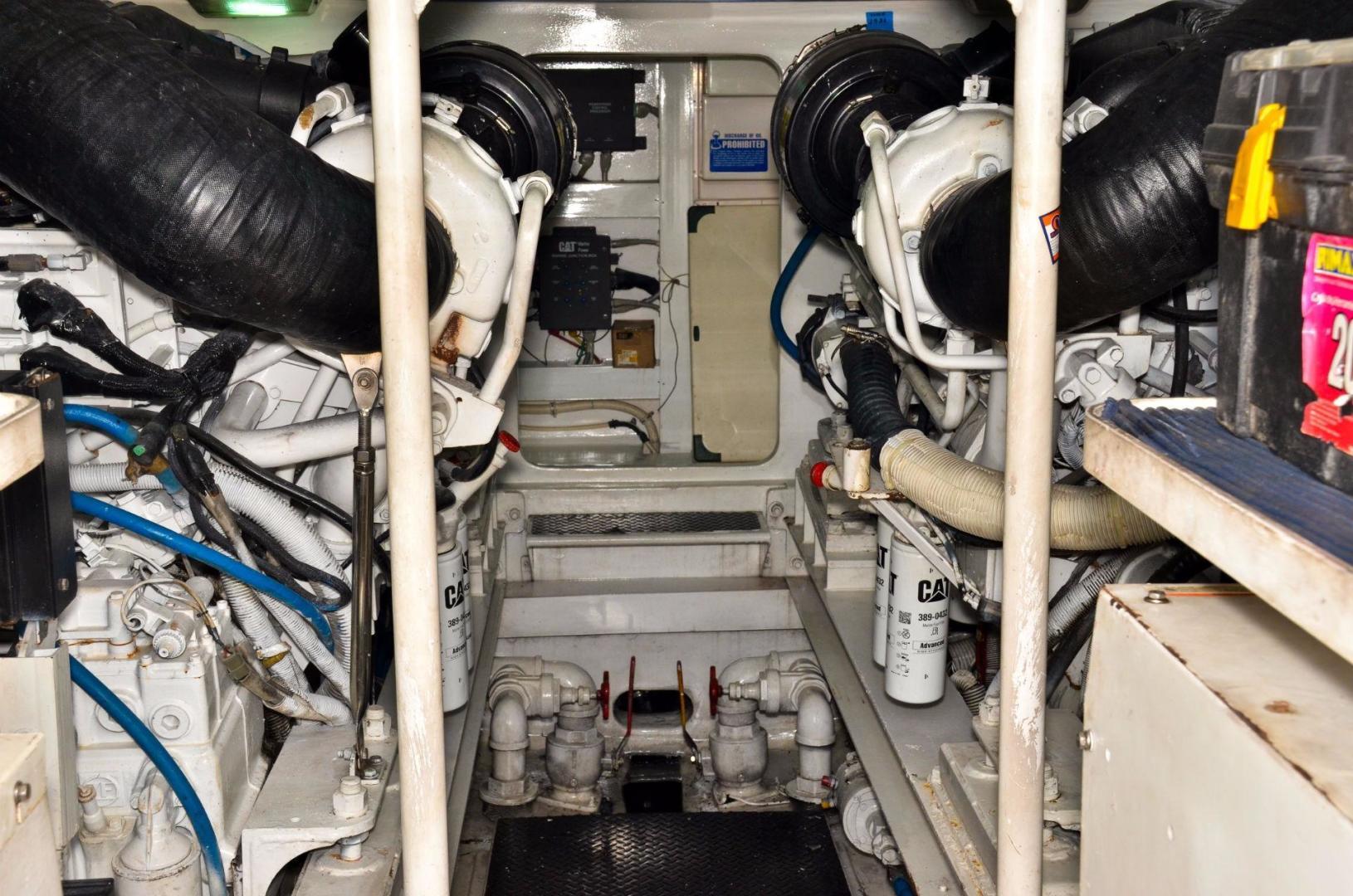 Viking 61 - Dushi - Engine Room