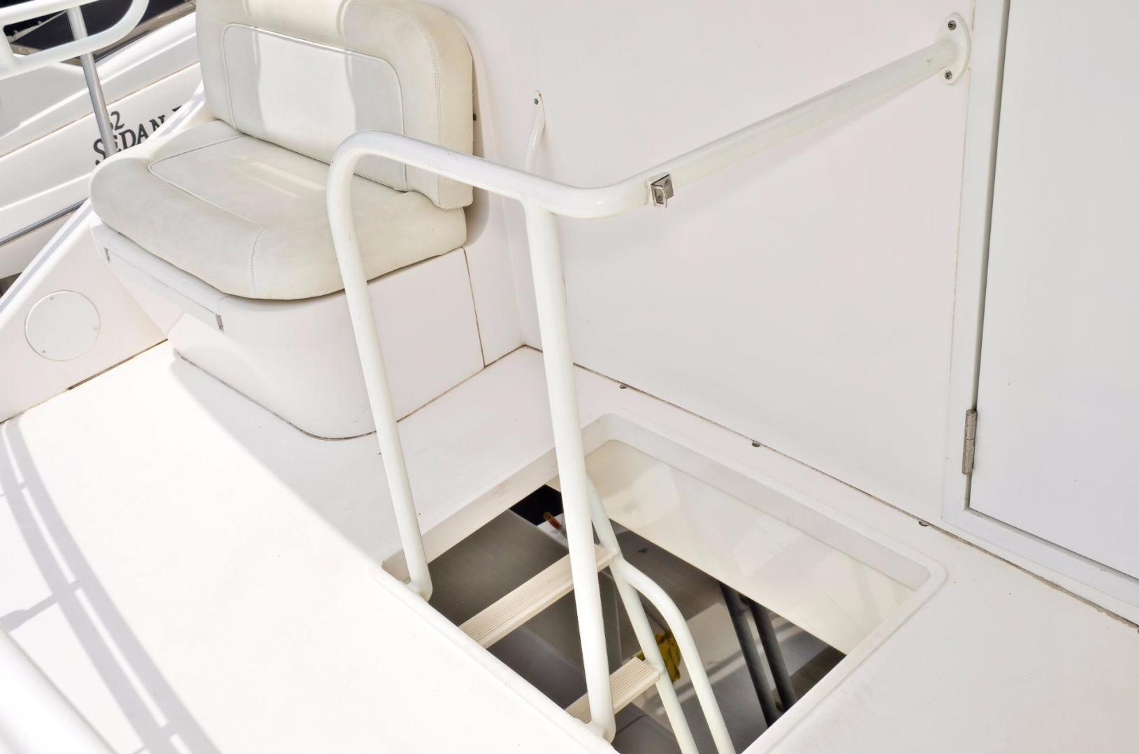 Viking 61 - Dushi - Stairs to Flybridge