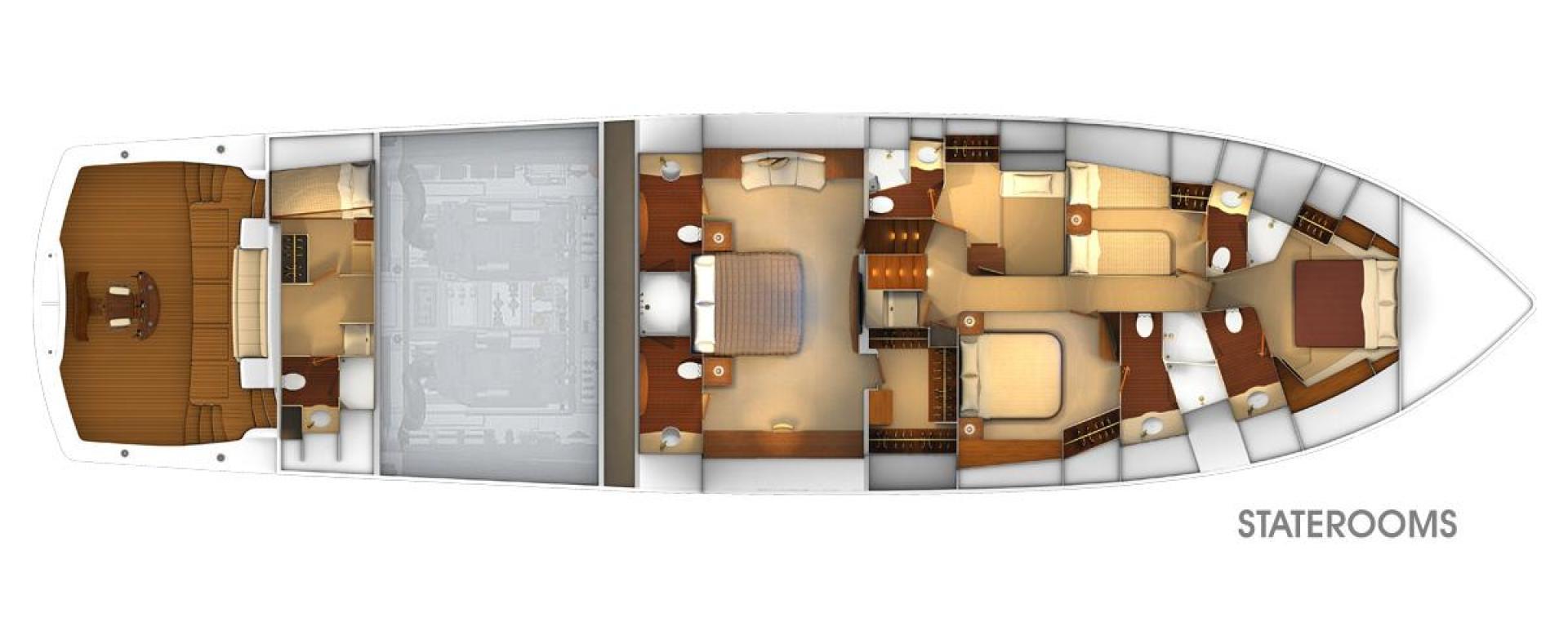 Viking 92 - Stateroom Layout