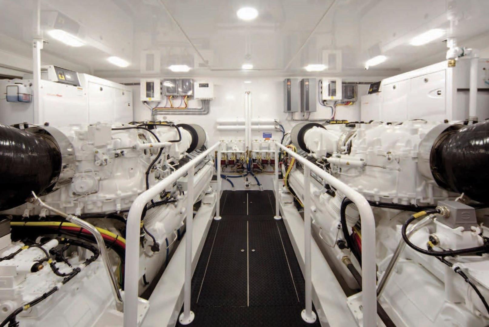 Viking 92 - Engine Room