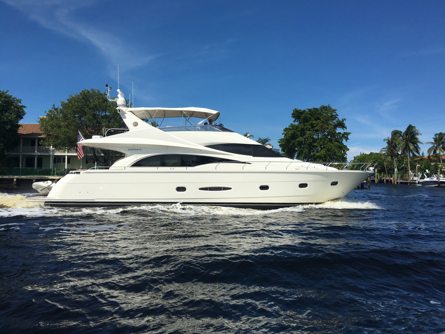 Picture Of: 65' Marquis Flybridge 2006 Yacht For Sale | 1 of 95