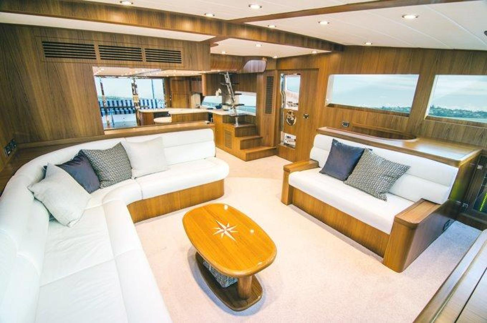 Picture Of: 80' Johnson 80' Skylounge w/Hydraulic Platform 2022 Yacht For Sale | 2 of 17