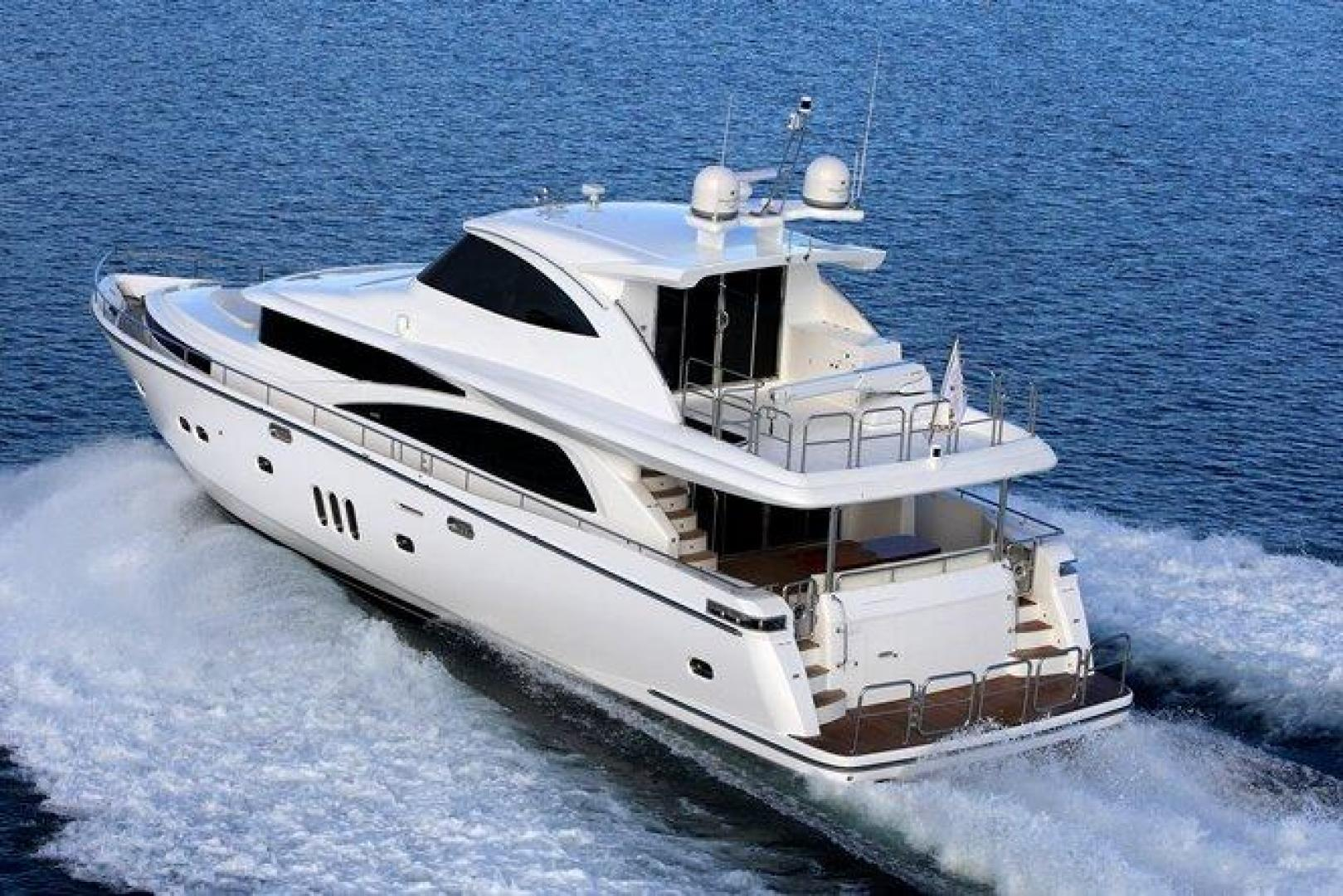 Picture Of: 80' Johnson 80' Skylounge w/Hydraulic Platform 2022 Yacht For Sale | 1 of 17
